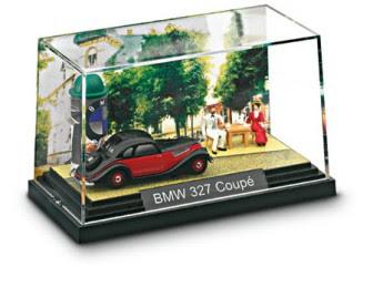 BMW 327 Coupé Diorama miniature