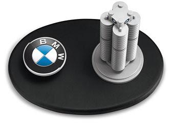 BMW Headquarters miniature