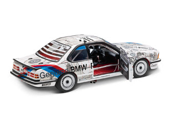 BMW 635 CSi sport car miniature