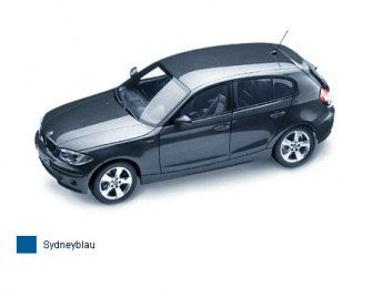 BMW 1er Sydney Blue miniature