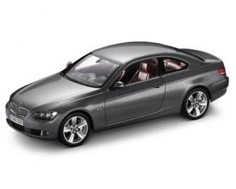 BMW E92 Grey Metal miniature