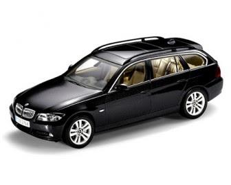 BMW E91 Sparkling graphite miniature