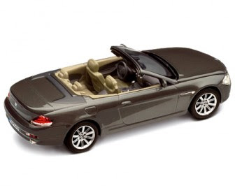 BMW 6 Convertible Grey miniature