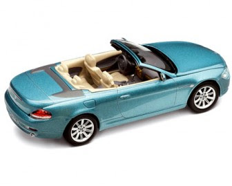 BMW 6 Blue miniature