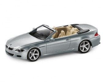 BMW M6 Convertible E64 Silverstone II miniature
