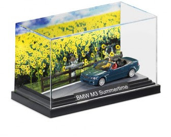 BMW M3 Convertible Summer Diorama