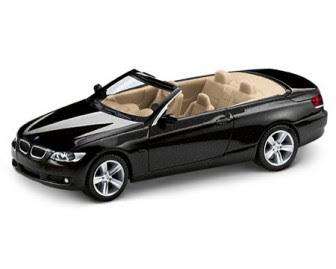 BMW 3 Series E93 Black Sapphire miniature