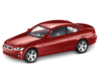 BMW 3 Series E92 Carmine Red miniature