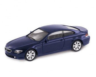 BMW 6 Series Coupé Mystic Blue miniature