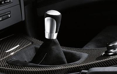 Gear lever knob interior