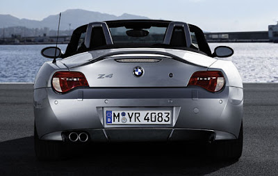 BMW Z4 Carbon diffuser for rear apron