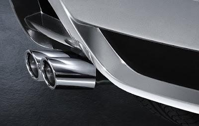 Sport rear silencer BMW X3
