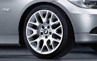 BMW Cross spoke 197 – complete wheel and tyre set
