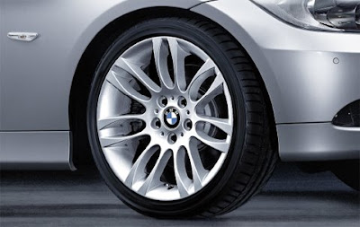 BMW Double spoke 195 – complete wheel and tyre set