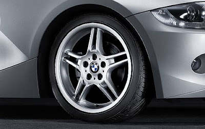 BMW Z4 Double spoke 125 – wheel, tyre set