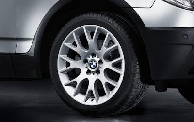 BMW Cross spoke 145 – wheel, tyre set