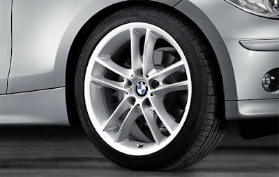 BMW Double spoke 182 wheel, tyre set