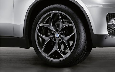 BMW X6 Double spoke 215 in black