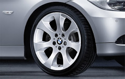 BMW Ellipsoid spoke 162 – wheel, tyre set