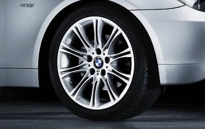 BMW 5 M double spoke 135 – wheel, tyre set