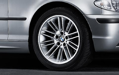 BMW 3 Parallel spoke 85 – wheel, tyre set