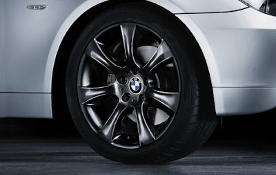 BMW Star spoke 124 in black – wheel, tyre set