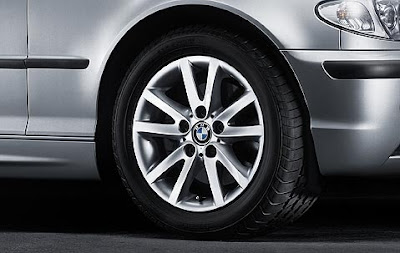BMW 3 Star spoke 136 – wheel, tyre set