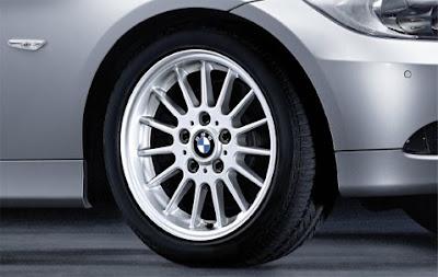 BMW 3 Radial spoke 32 – wheel, tyre set