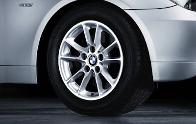 BMW 5 Radial spoke 50 – wheel, tyre set