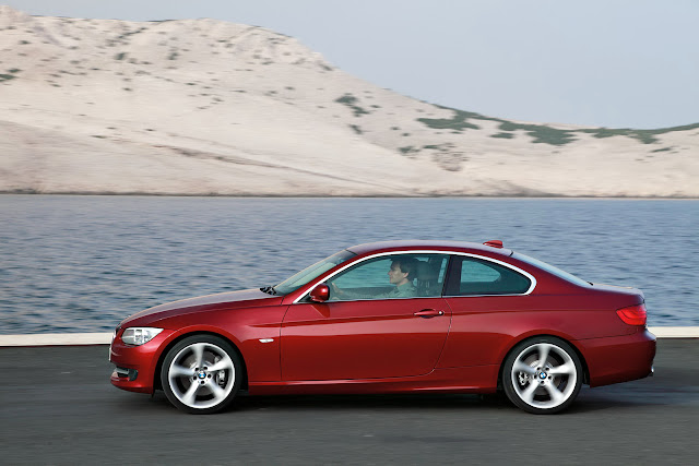 two-door BMW 335i vehicle