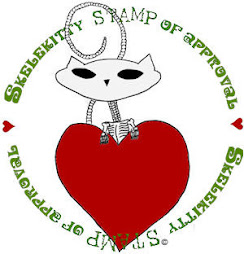 Skelekitty Stamp of Approval