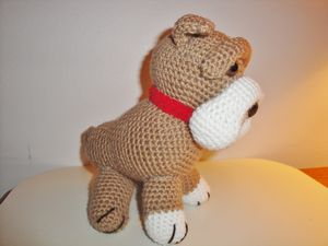Chiwaluv Amigurumi Critters: Old English Bulldog