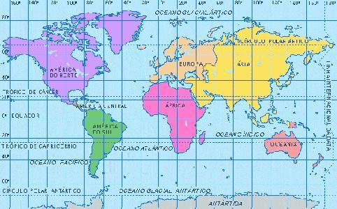 mapa mundi politico. mapamundi