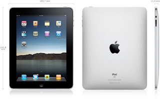 Dimensiones del iPad