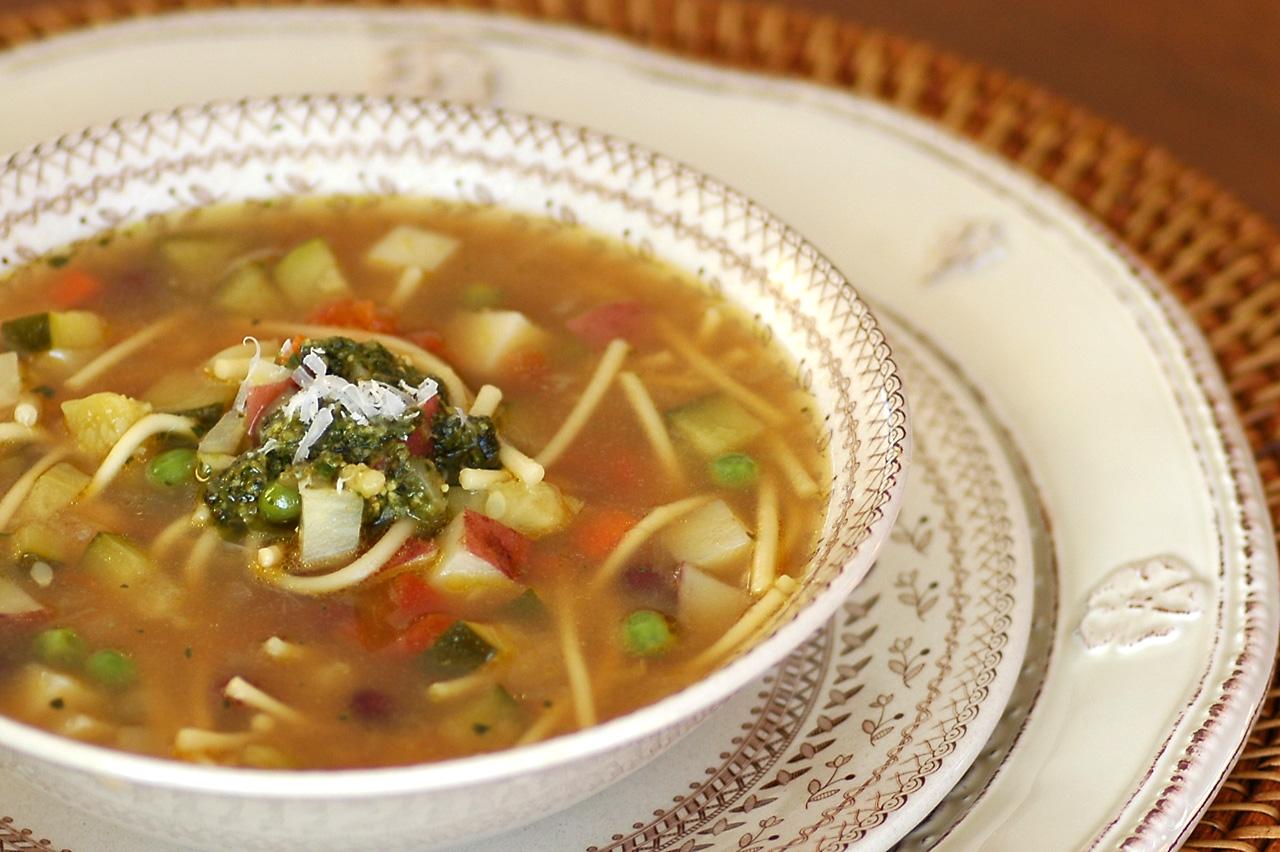Time in the Kitchen: Provençal Vegetable Soup (Soupe au Pistou