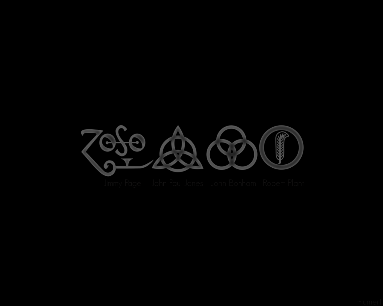 Trinity Symbol Wallpaper Led Zeppelin Used This Symbol