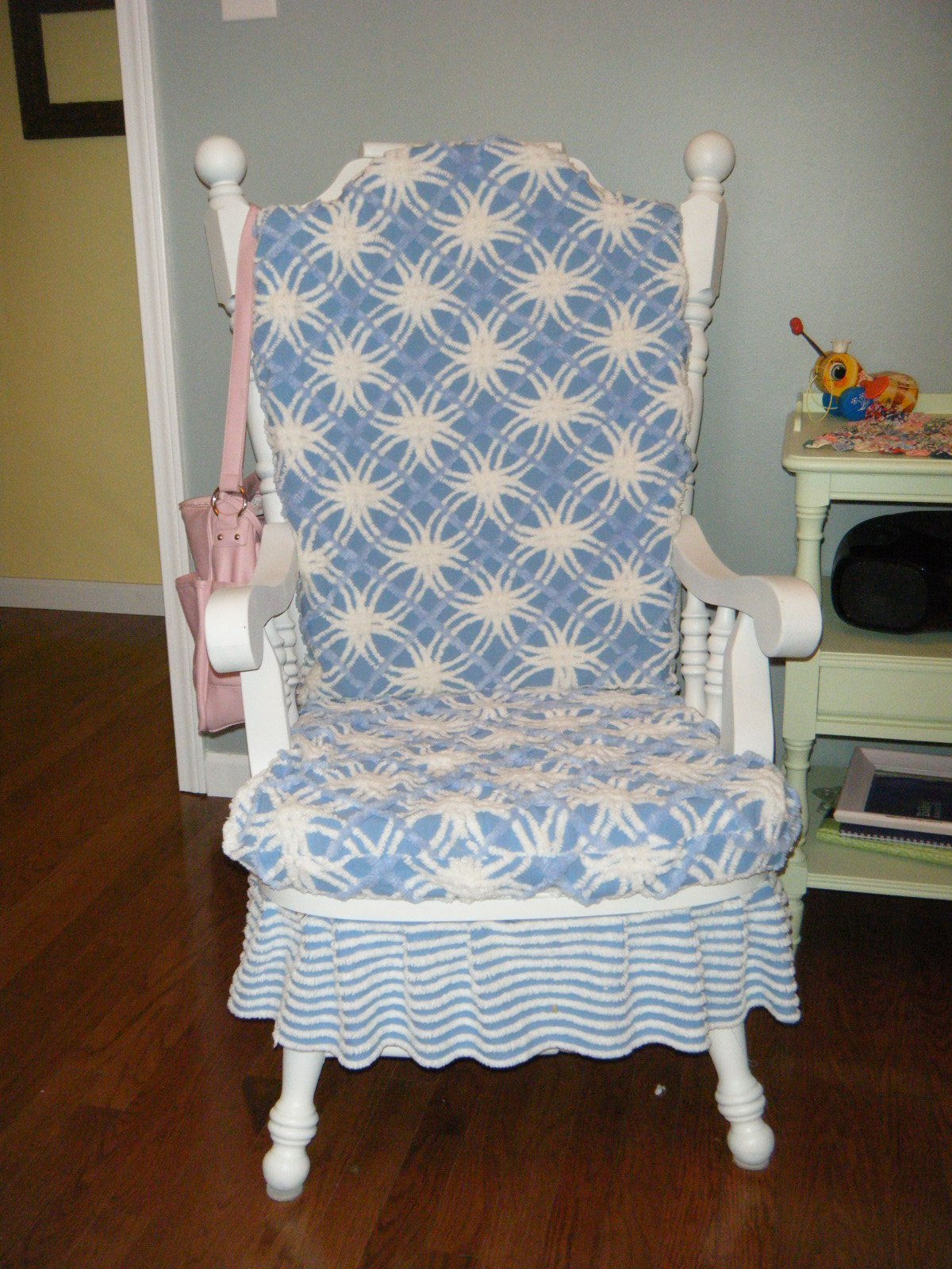 Scary Rocking Chair ~ Makin projiks rocking chair from scary to sweet