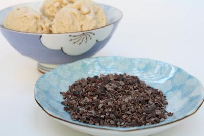Effort to Deliciousness: Cacao Nib Gelato