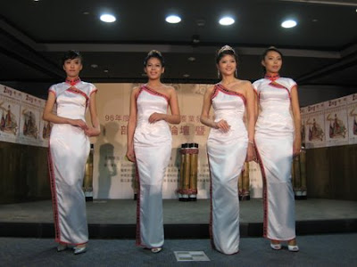 The cheongsam (qipao) can be made of different materials and to varying