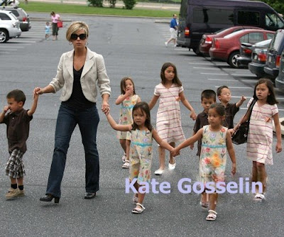 Kate Gosselin and her babies