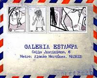 "---Exposición Colectiva--- ""Mail Artistas Complutenses"" Galería Estampa"