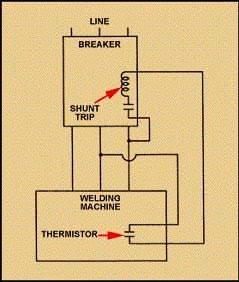 unled  Wire Thermostat Wiring Diagram Shunt Trip Breaker on