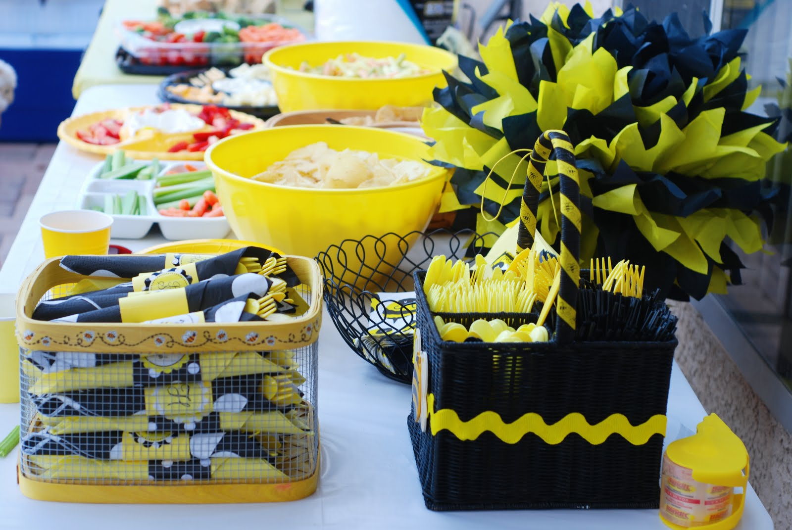 Bumble BEE Party A To Zebra Celebrations