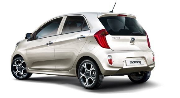 kia morning 2 2012 Kia Morning/Picanto: First Official Images
