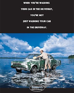 Car Washing poster