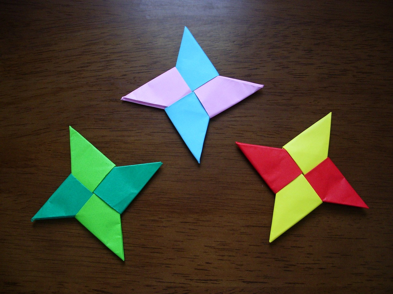 KATAKOTO ORIGAMI: How to make Origami SYURIKEN - photo#3
