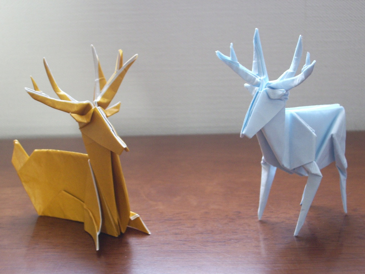 Origami Standing deer