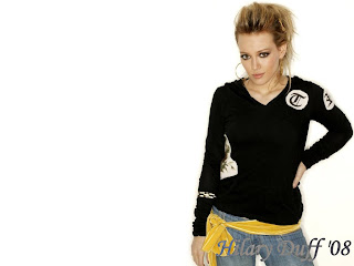 Hilary Duff Jeans Wallpaper