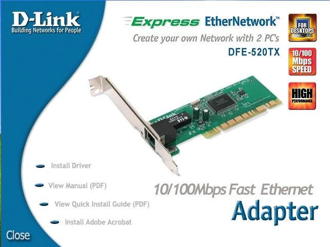 D Link Network Adapter Driver Download
