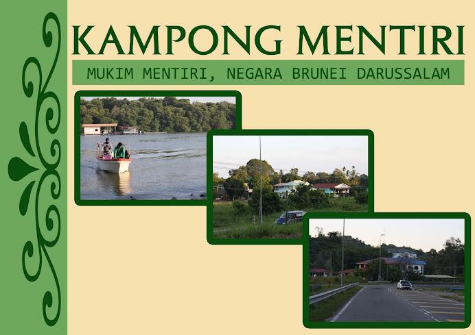 Kampong Mentiri .Mukim Mentiri. Brunei Darussalam